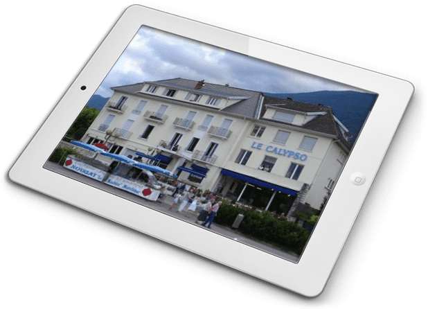 Tablette visuel-le-calipso